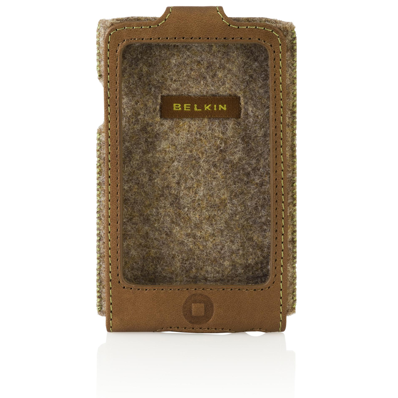 Belkin Eco-Conscious Sleeve for iPod touch 2G - Leather - Walnut