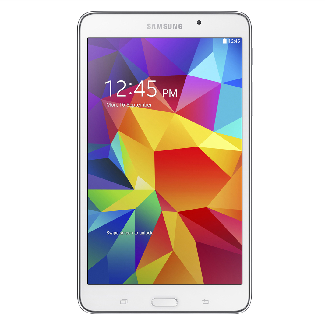 "Samsung Galaxy Tab® 4 Tablet, 7"" Screen, 1.5GB Memory, 8GB Storage, Android 4.4 KitKat, White"