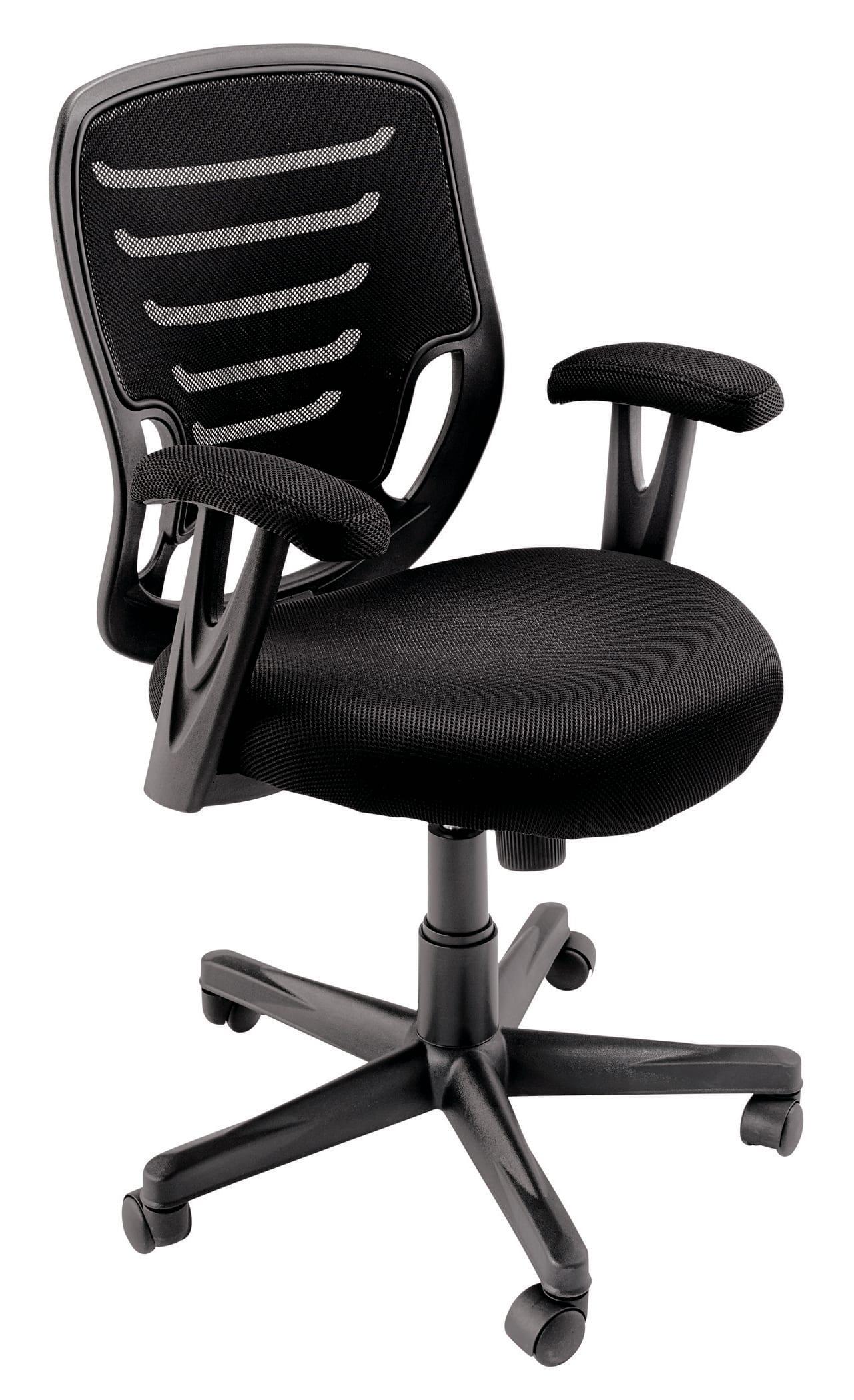 Brenton Studio® Althea Fabric Task Chair, Black