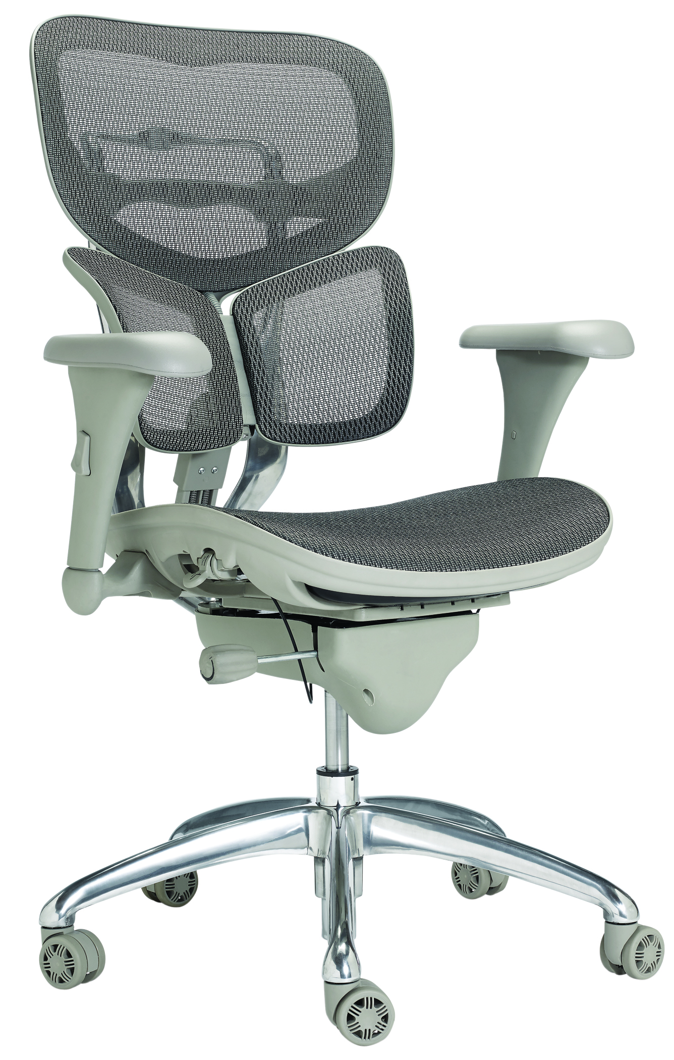 WorkPro® PRO-767E Commercial Mesh Mid-Back Chair, Gray