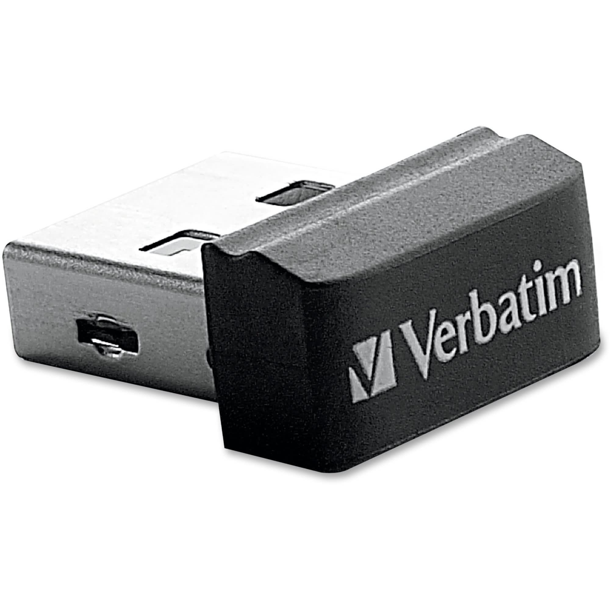Verbatim 97464 Store 'n' Stay 16GB USB 2.0 Flash Drive Black