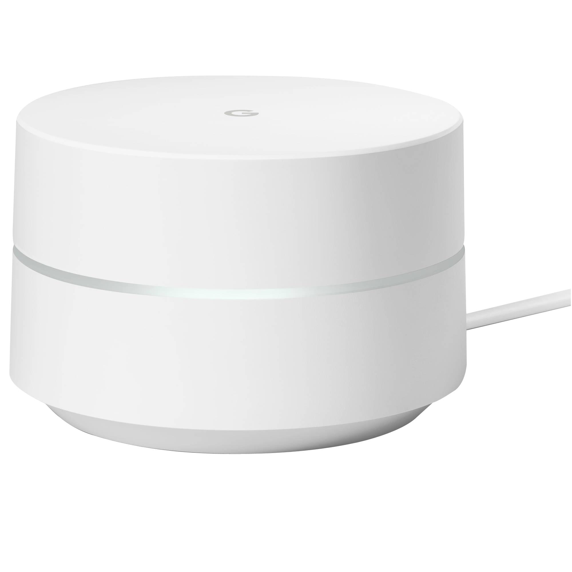 Google Wifi AC1200 Dual-Band Wi-Fi Router, White
