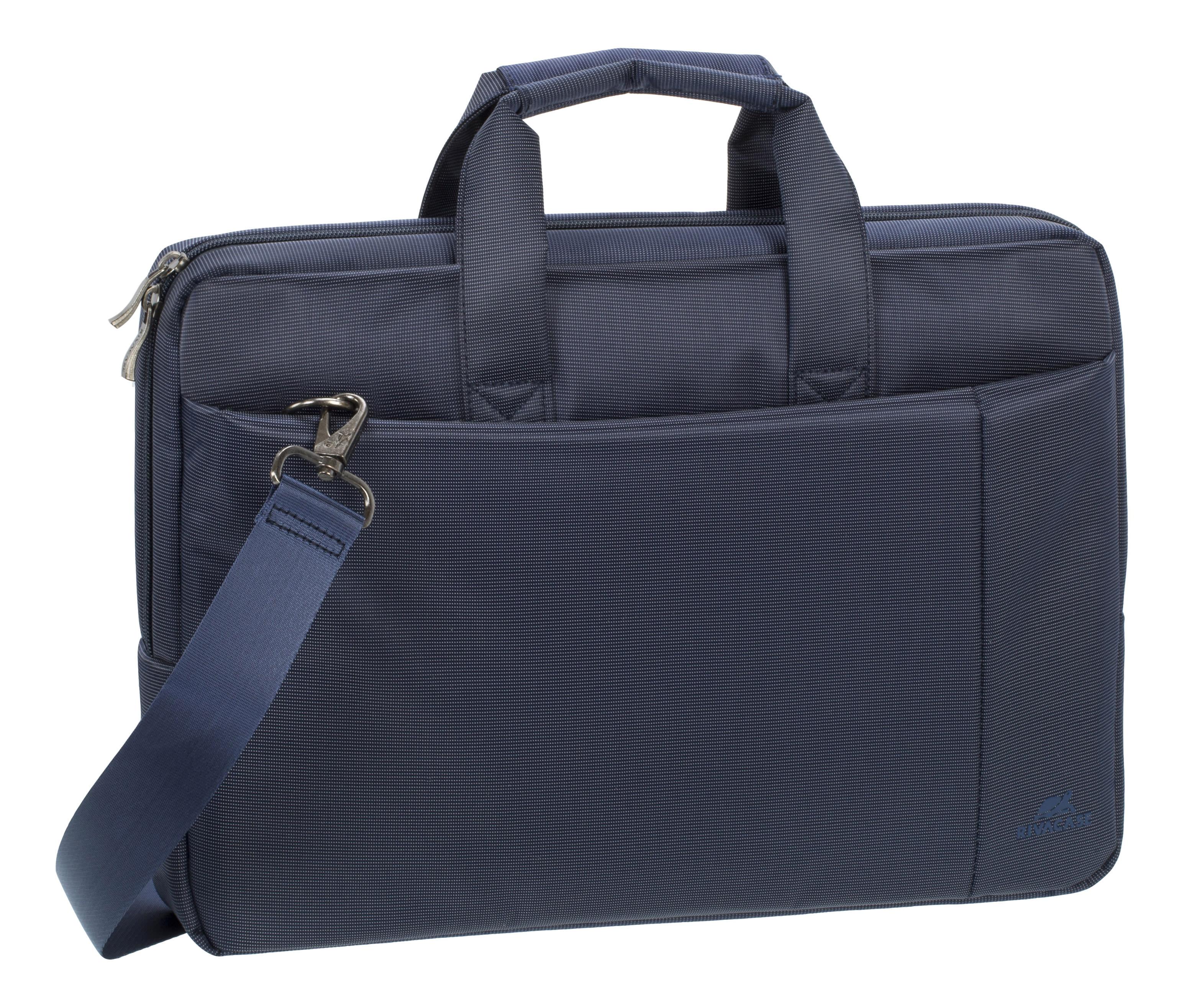 "Rivacase 8231 Laptop Bag With 15.6"" Laptop Pocket, Blue"