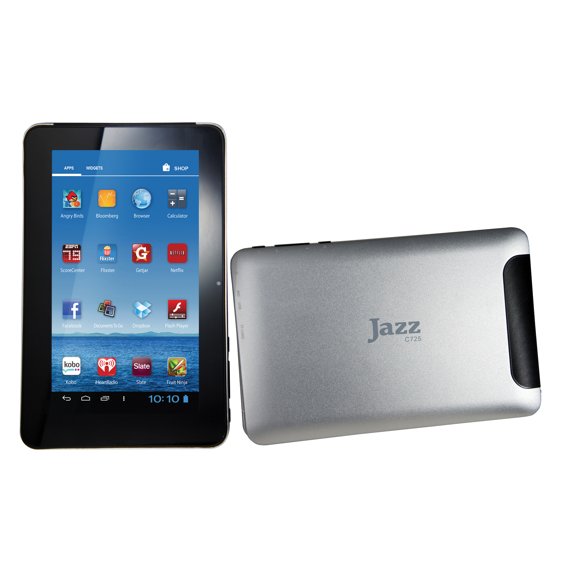 "UltraTab™ Jazz C725 Tablet, 7"" Screen, 4GB Storage, Android 4.0 Ice Cream Sandwich"