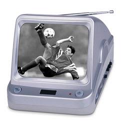 Portable Black & White TV