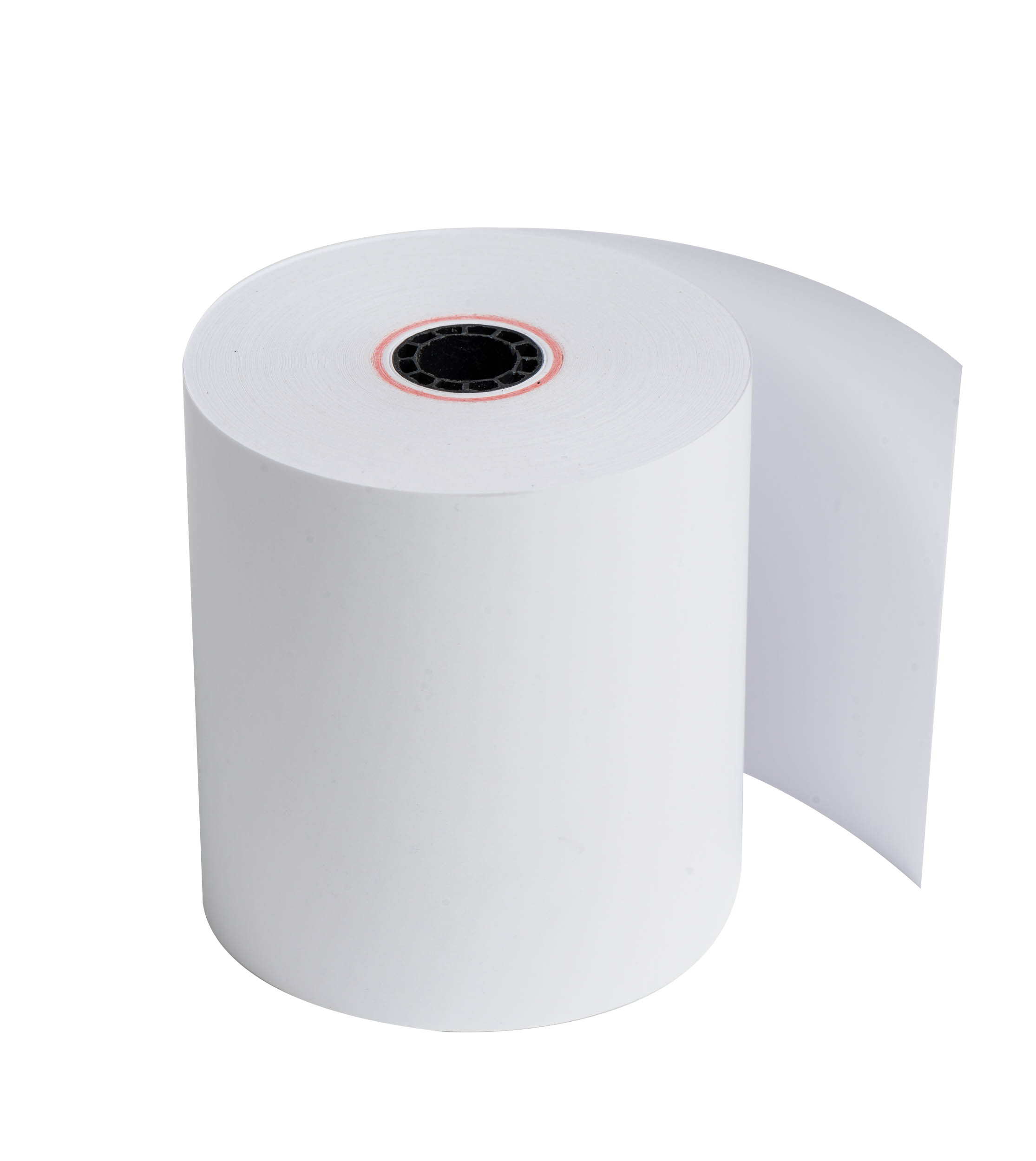 "Ritemade Paper 1-Ply Heavyweight Thermal Roll, 3 1/8"" x 1,980"", White, Carton Of 50 Rolls"