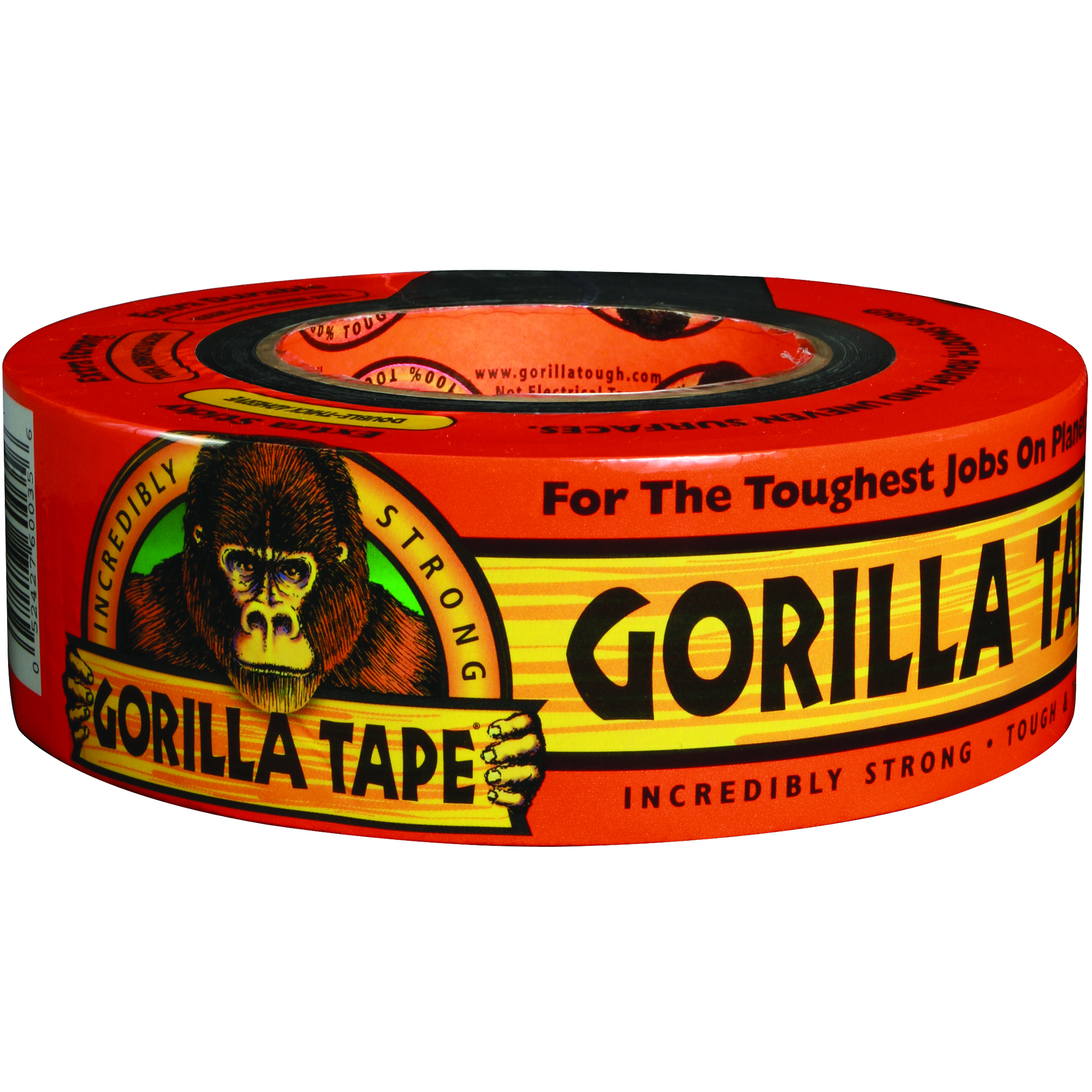 "Gorilla® Duct Tape, 3"" Core, 2"" x 35 Yd., Black"