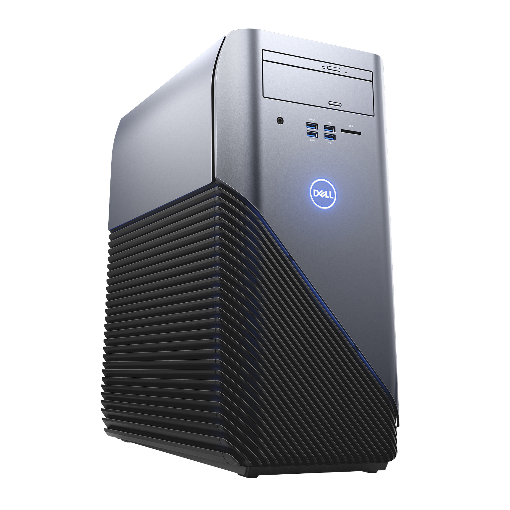 Dell™ Inspiron Desktop PC, AMD Ryzen™ 5, 8GB Memory, 1TB Hard Drive, RX 570 4GB, Windows® 10 Home, Demo, Radeon RX 570