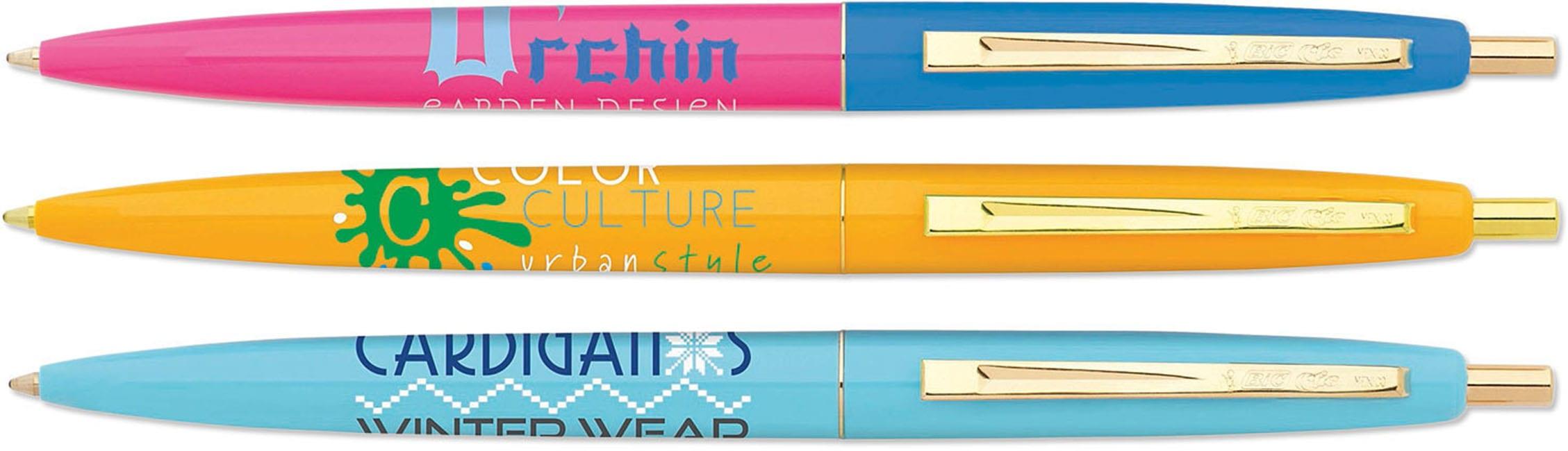 BIC Clic Gold Pen