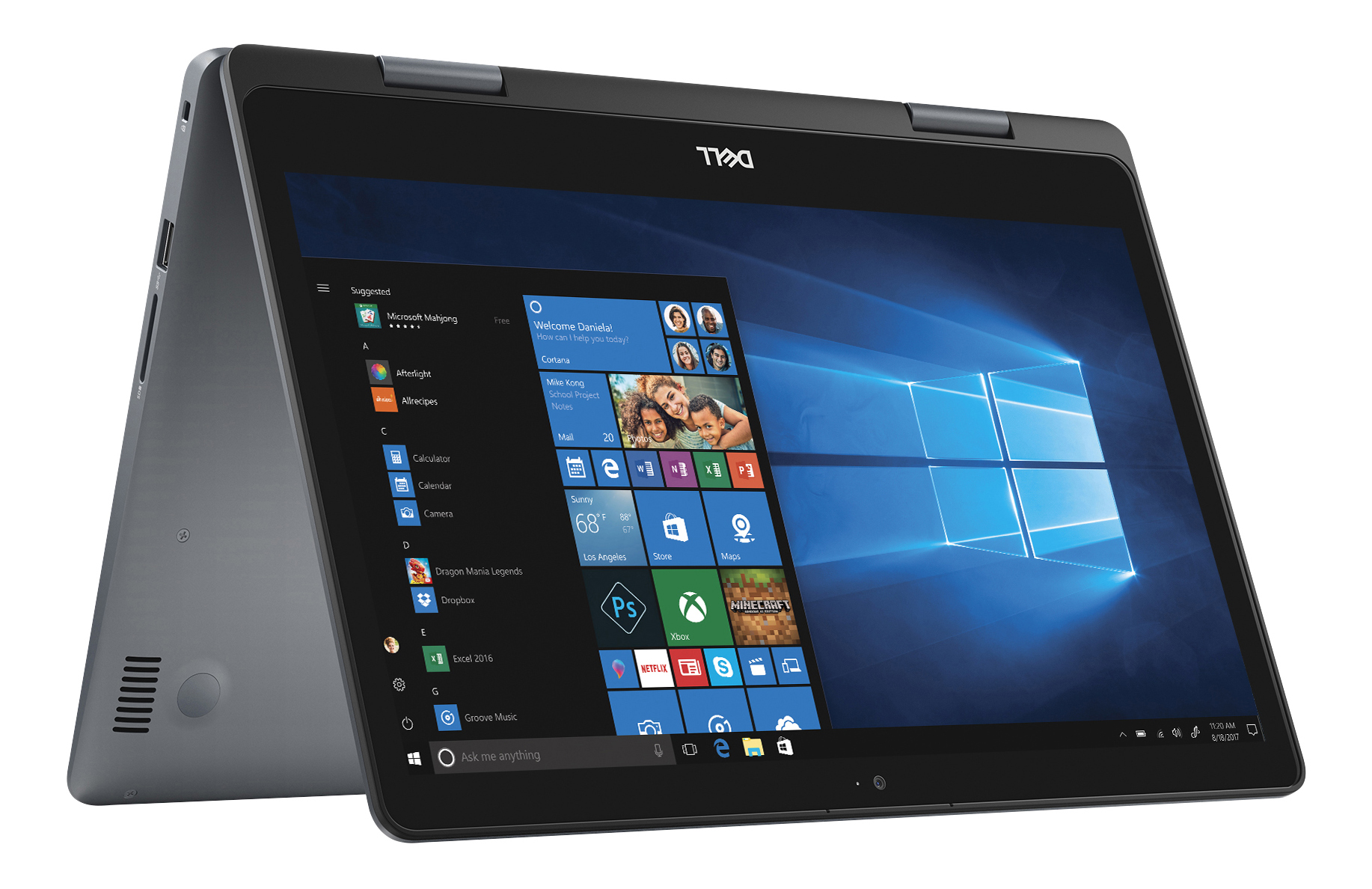 """Dell™ Inspiron 14 5000 2-in-1 Laptop, 14"""" Touch Screen, Intel® Core™ i5, 8GB Memory, 1TB Hard Drive, Windows® 10 Home"""