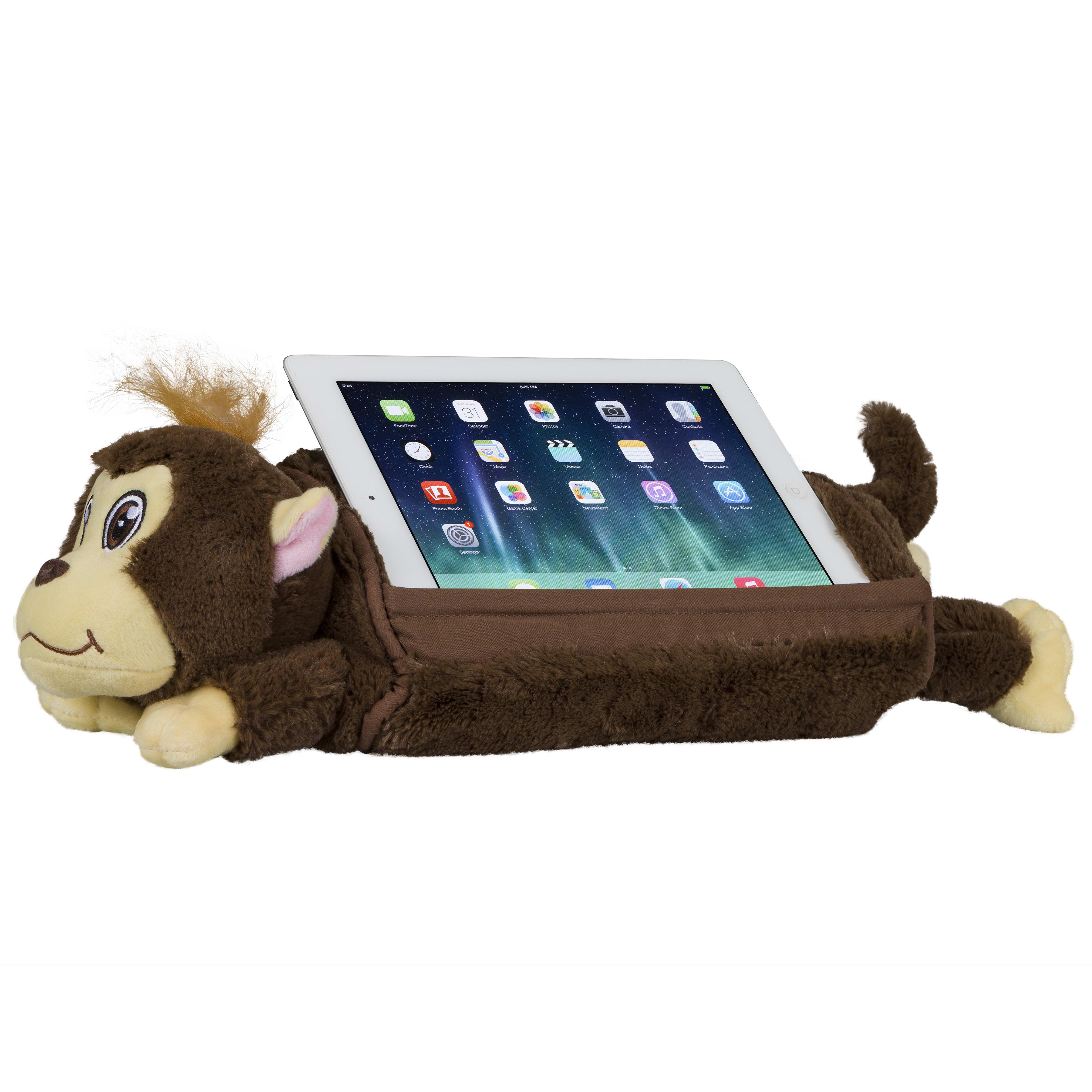 "LapGear Lap Pets Tablet Pillow, 19-1/2"" x 6-7/8"", Monkey"