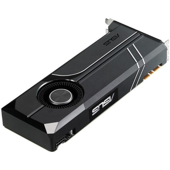 Asus TURBO-GTX1070TI-8G GeForce GTX 1070 TI Graphic Card - 8 GB GDDR5 - 1.65 GHz Core - 256 bit Bus Width - DisplayPort - HDMI - DVI