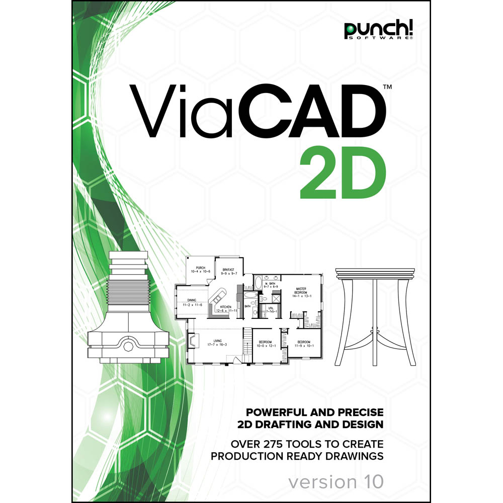 Punch!® ViaCAD 2D v10, For Mac®