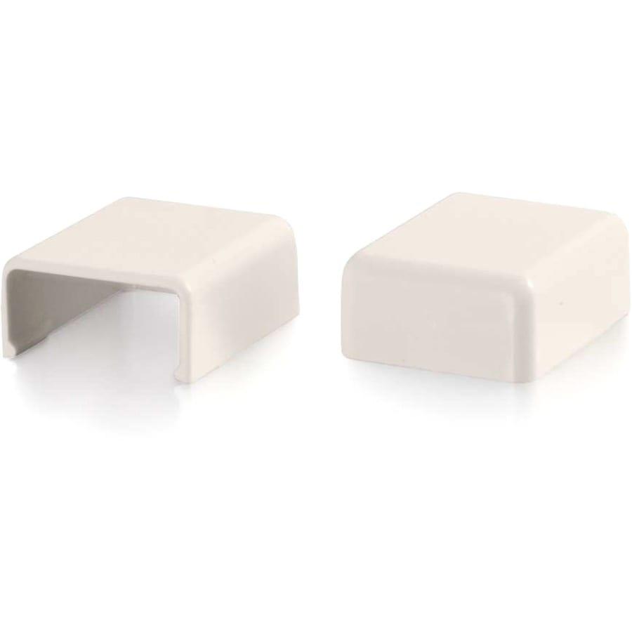 C2G Wiremold Uniduct 2700 Blank End Fitting - Fog White - Fog White - Polyvinyl Chloride (PVC)