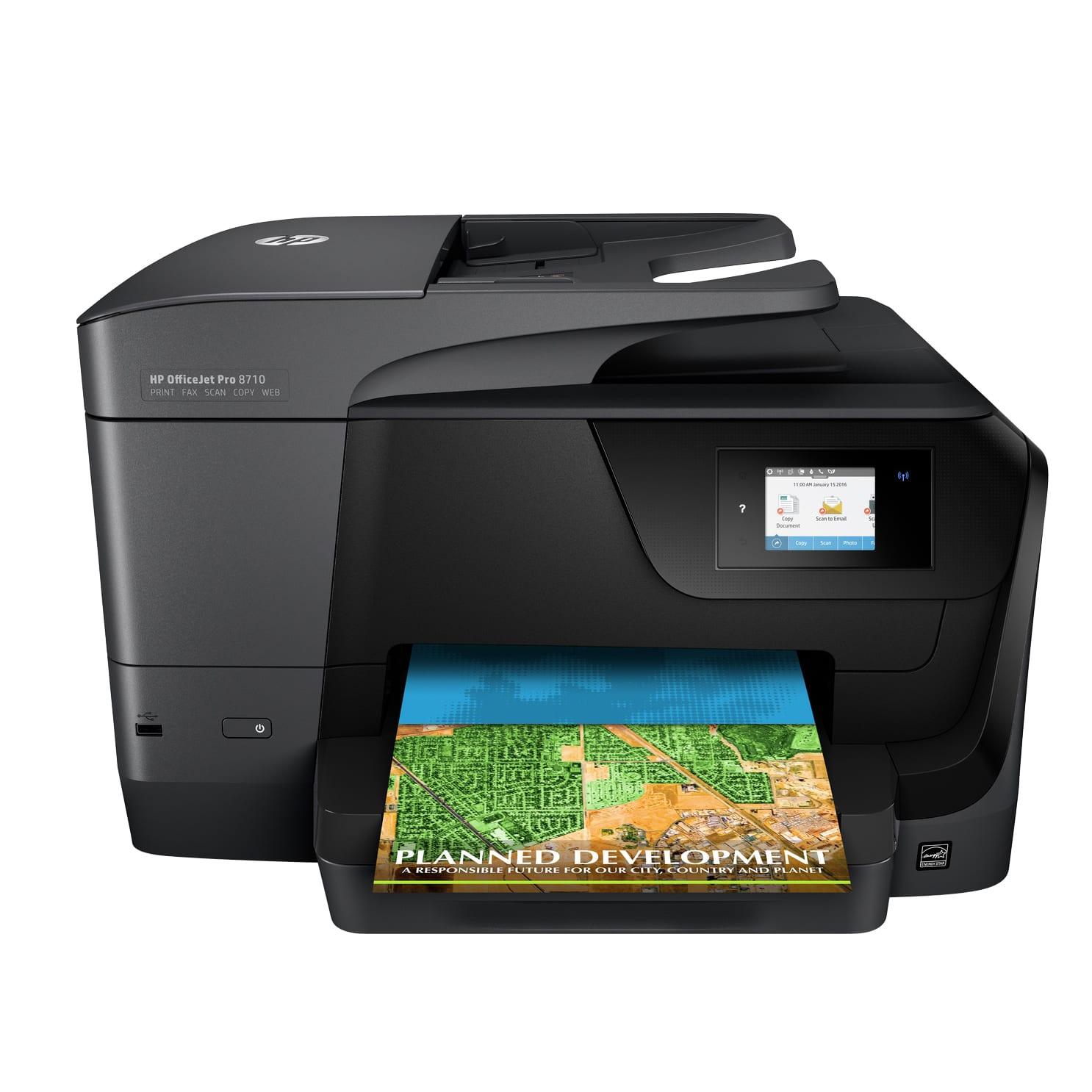 HP OfficeJet Pro 8710 Inkjet All-in-One Wireless Printer