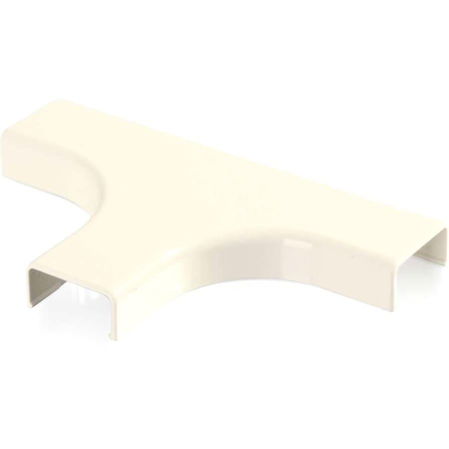 C2G Wiremold Uniduct 2800 Bend Radius Compliant Tee - Ivory - Ivory - Polyvinyl Chloride (PVC)