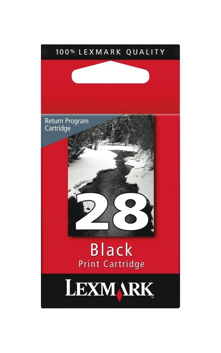 Lexmark™ 28 (18C1428) Black Ink Cartridge