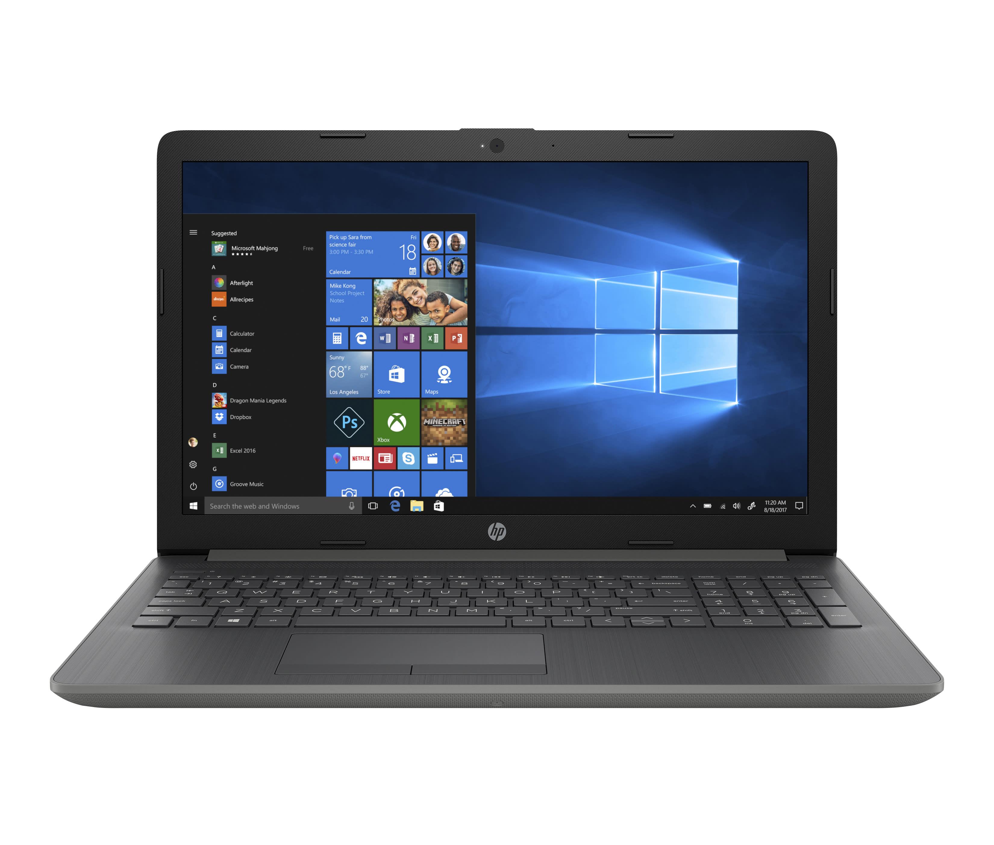 "HP 15-da0086od Laptop, 15.6"" Touch Screen, Intel® Core™ i7, 8GB Memory, 1TB Hard Drive, Windows® 10 Home, 5EF87UA#ABA"
