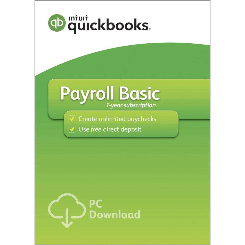 Quickbooks Desktop Basic Payroll