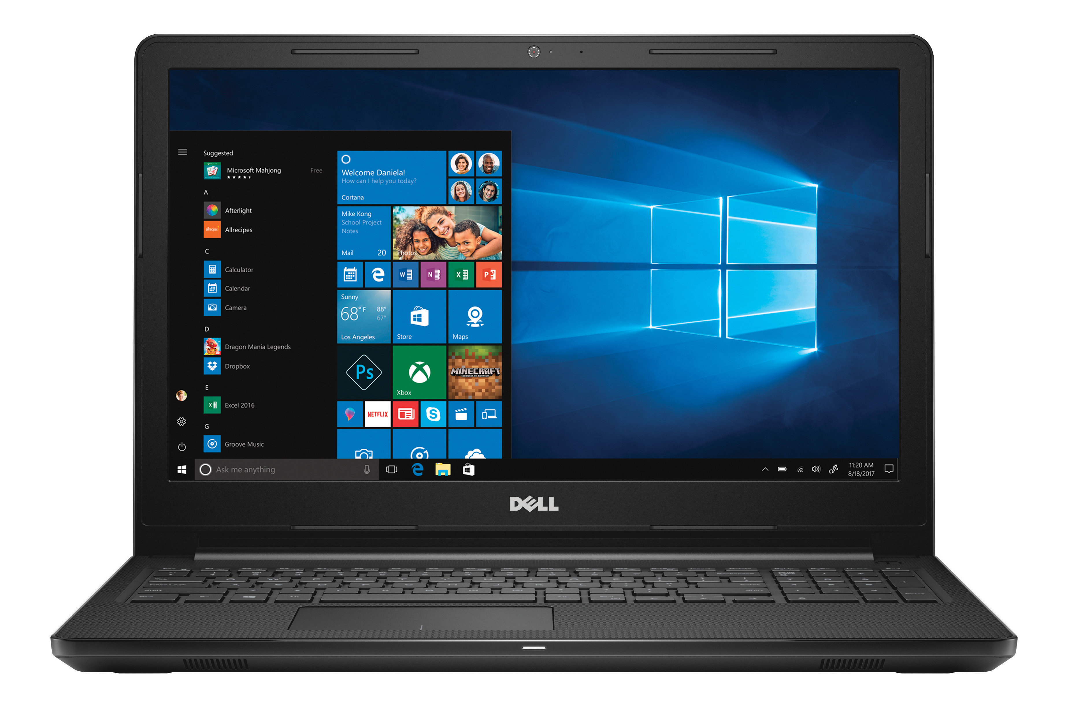 "Dell™ Inspiron 15 3000 Series Laptop, 15.6"" Screen, 8th Gen Intel® Core™ i5, 8GB Memory, 1TB Hard Drive, Windows® 10 Home"