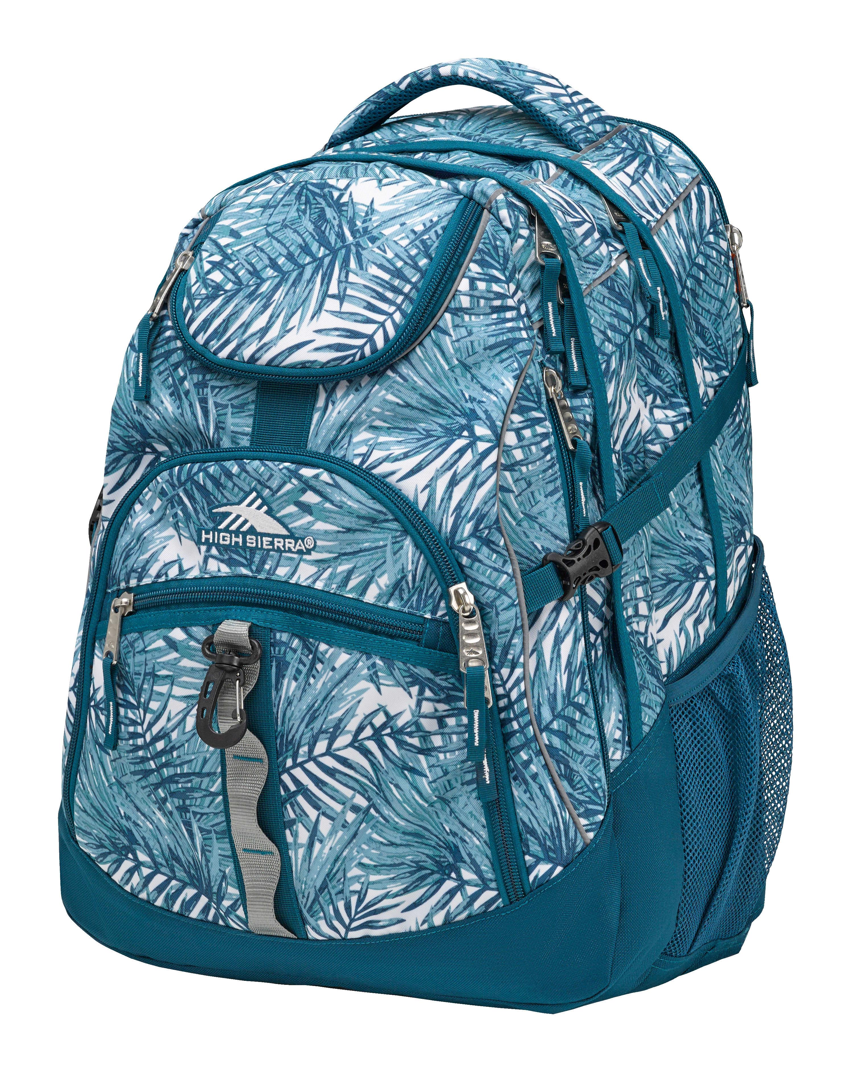 High Sierra® Access Laptop Backpack, Lagoon/Palms