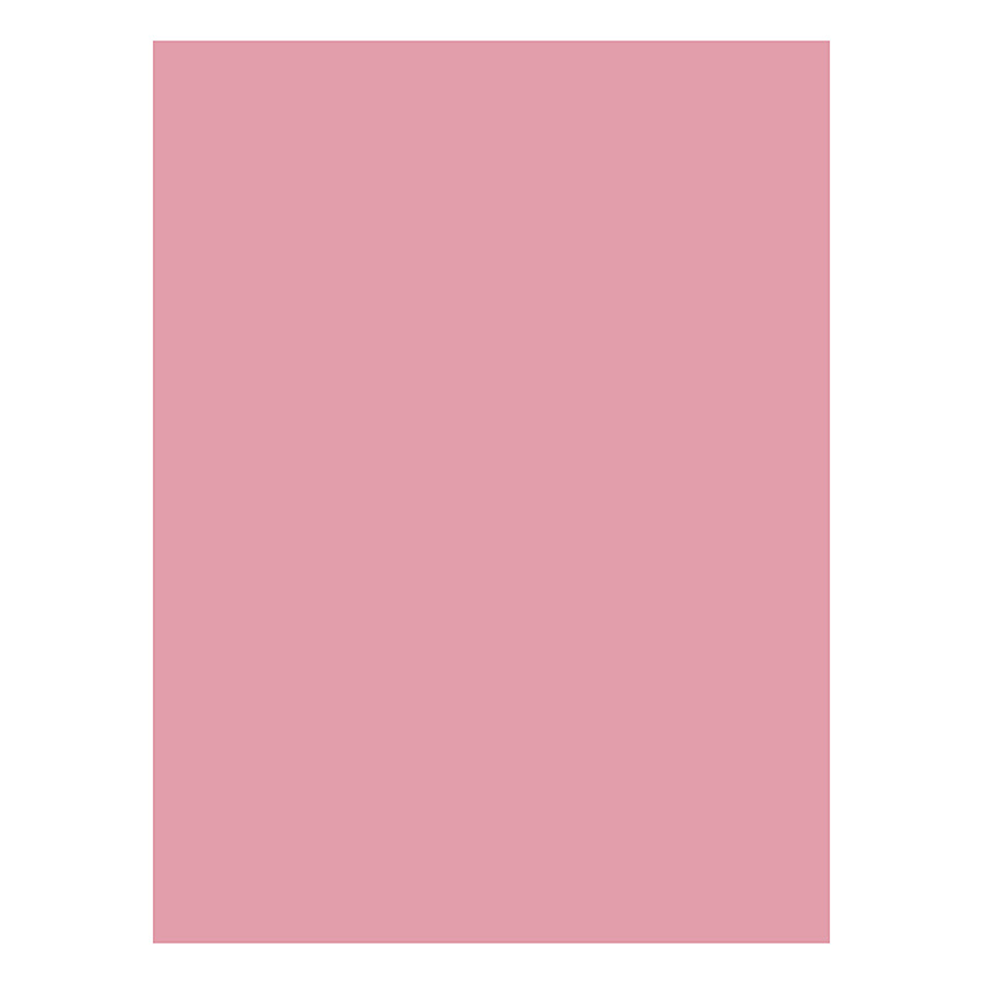 """Nature Saver Smooth Texture Construction Paper, 100% Recycled, 9"""" x 12"""", Pink, Pack Of 50"""