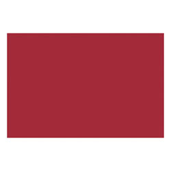 """Nature Saver Smooth Texture Construction Paper, 100% Recycled, 12"""" x 18"""", Holiday Red, Pack Of 50"""