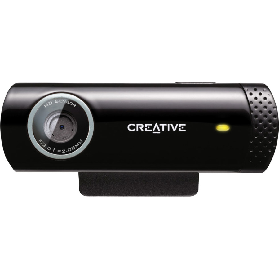 Creative Live! Cam 73VF070000000 Webcam - 30 fps - USB 2.0 - 1280 x 720 Video