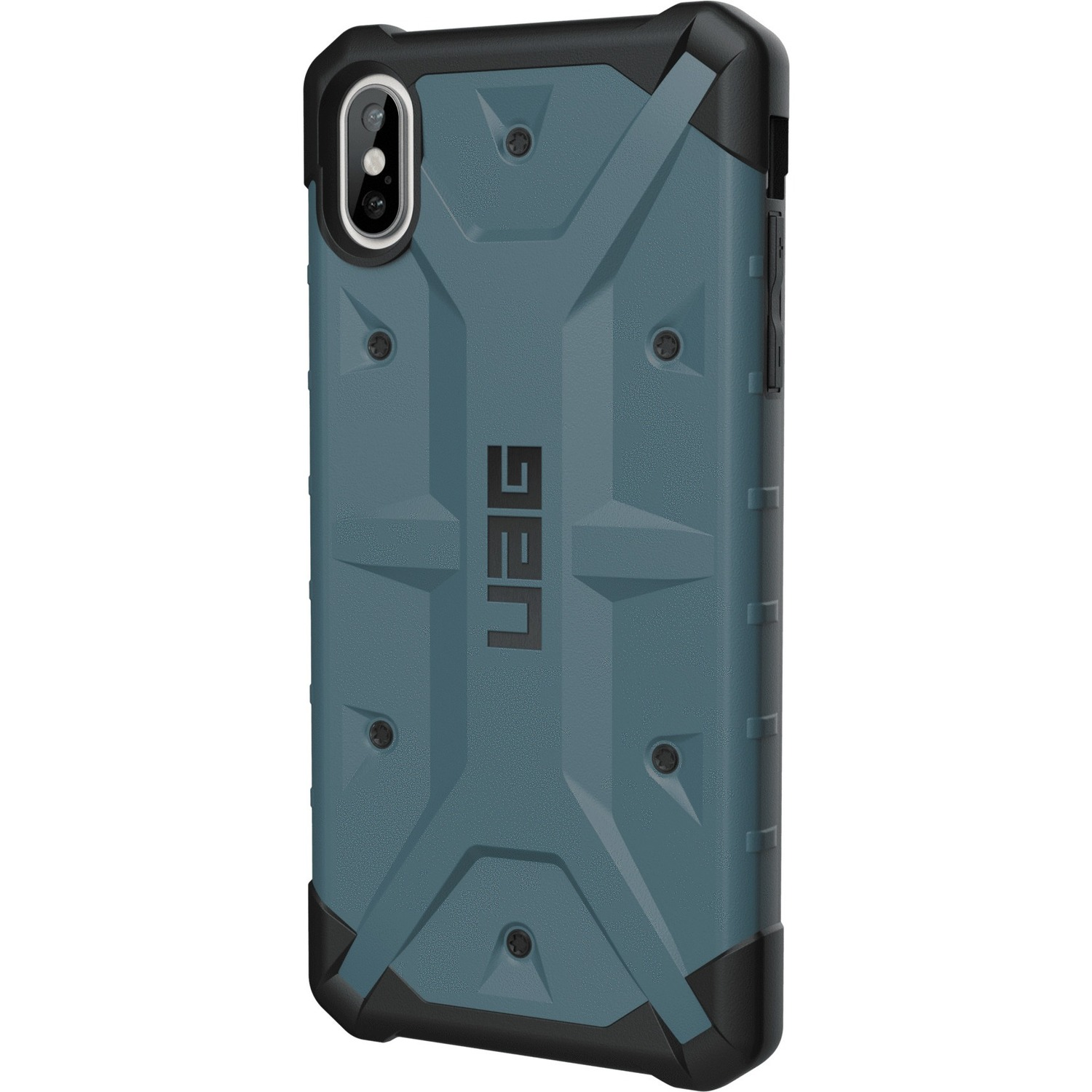 Urban Armor Gear Pathfinder Series iPhone Xs Max Case - For Apple iPhone XS Max Smartphone - Slate - Impact Resistant, Scratch Resistant, Drop Resistant