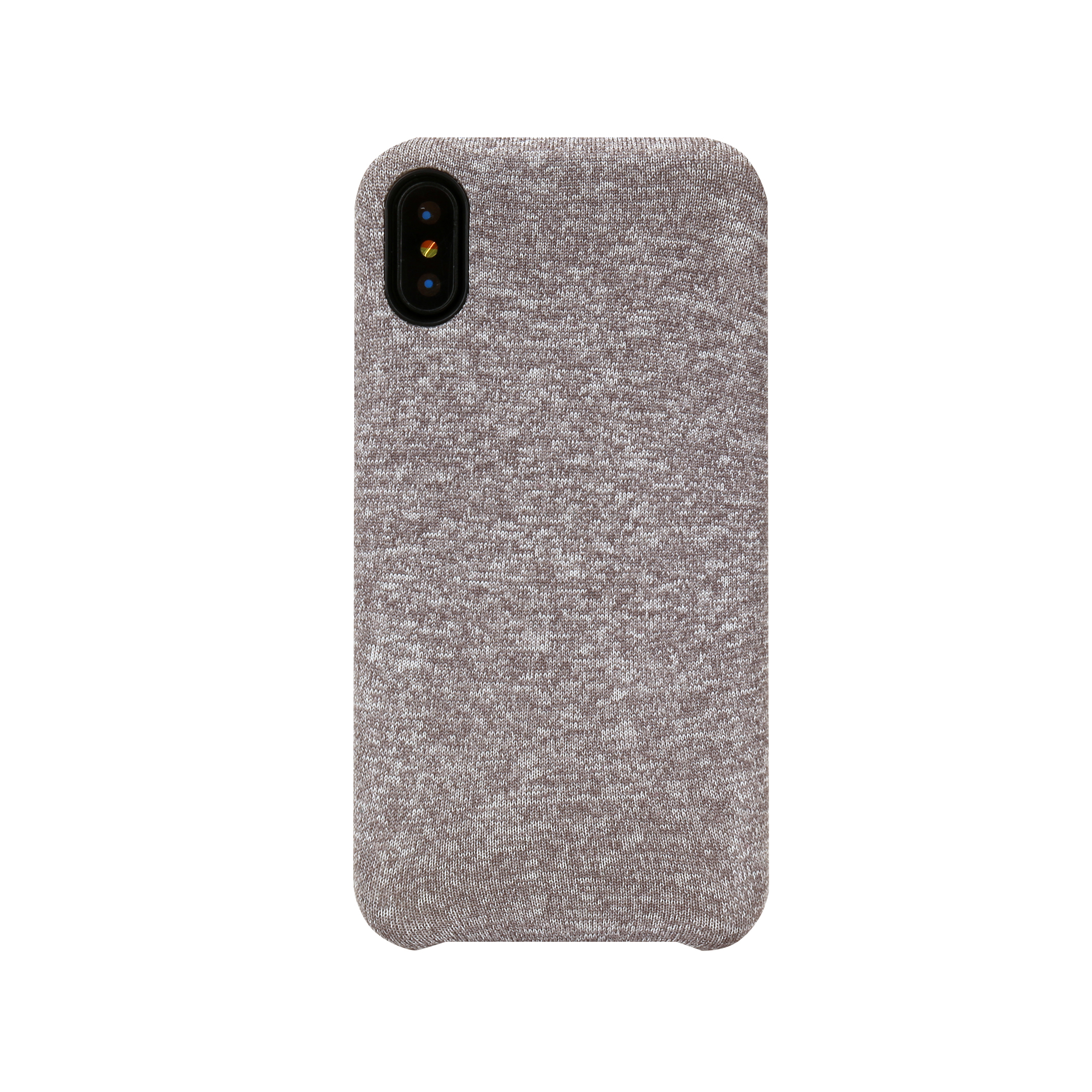 iHome® Heather Protective Case For Apple® iPhone® X, Gray