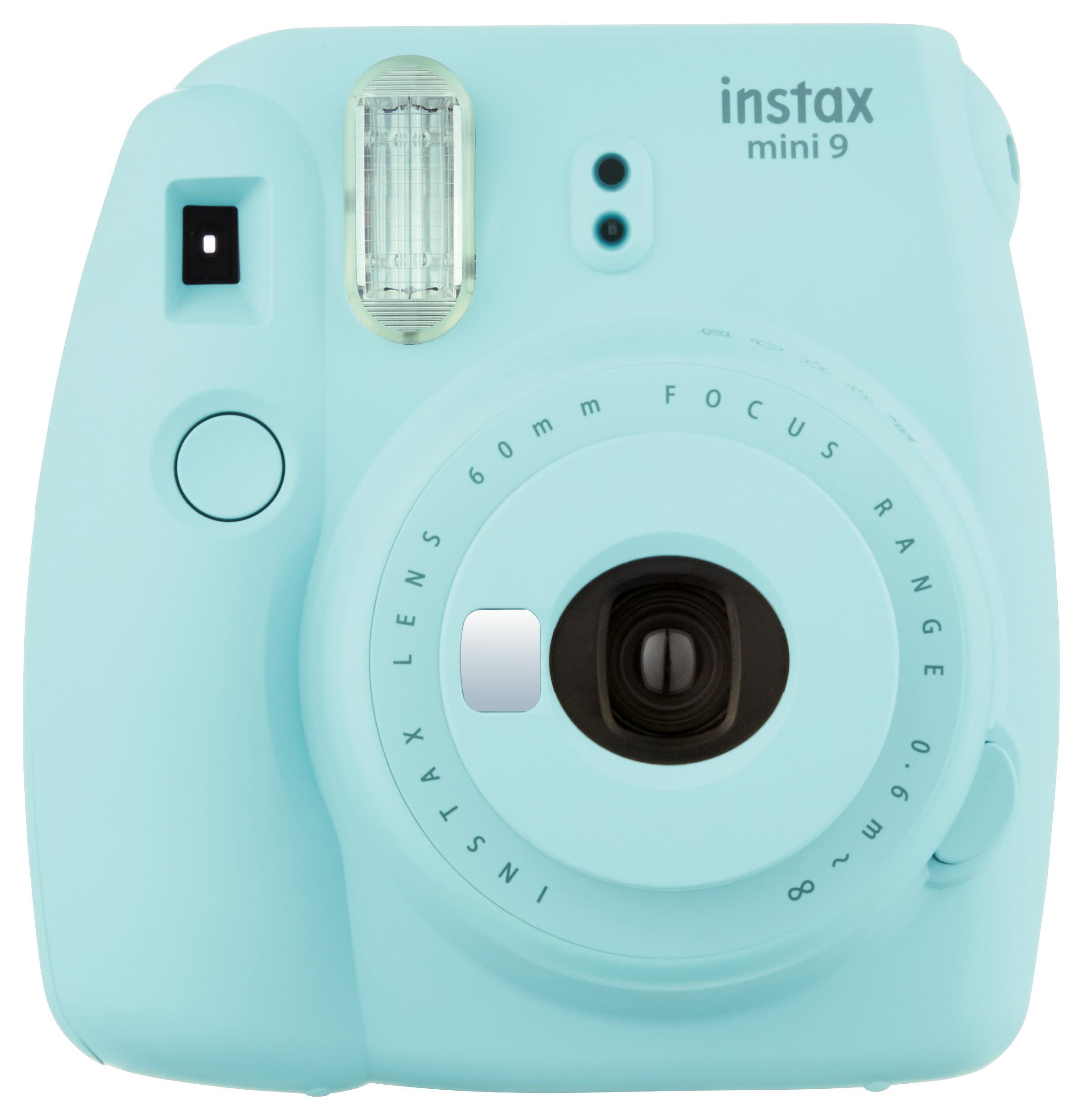 Fujifilm® instax® mini 9 Camera, Ice Blue, INSTAXMINI9BLUE