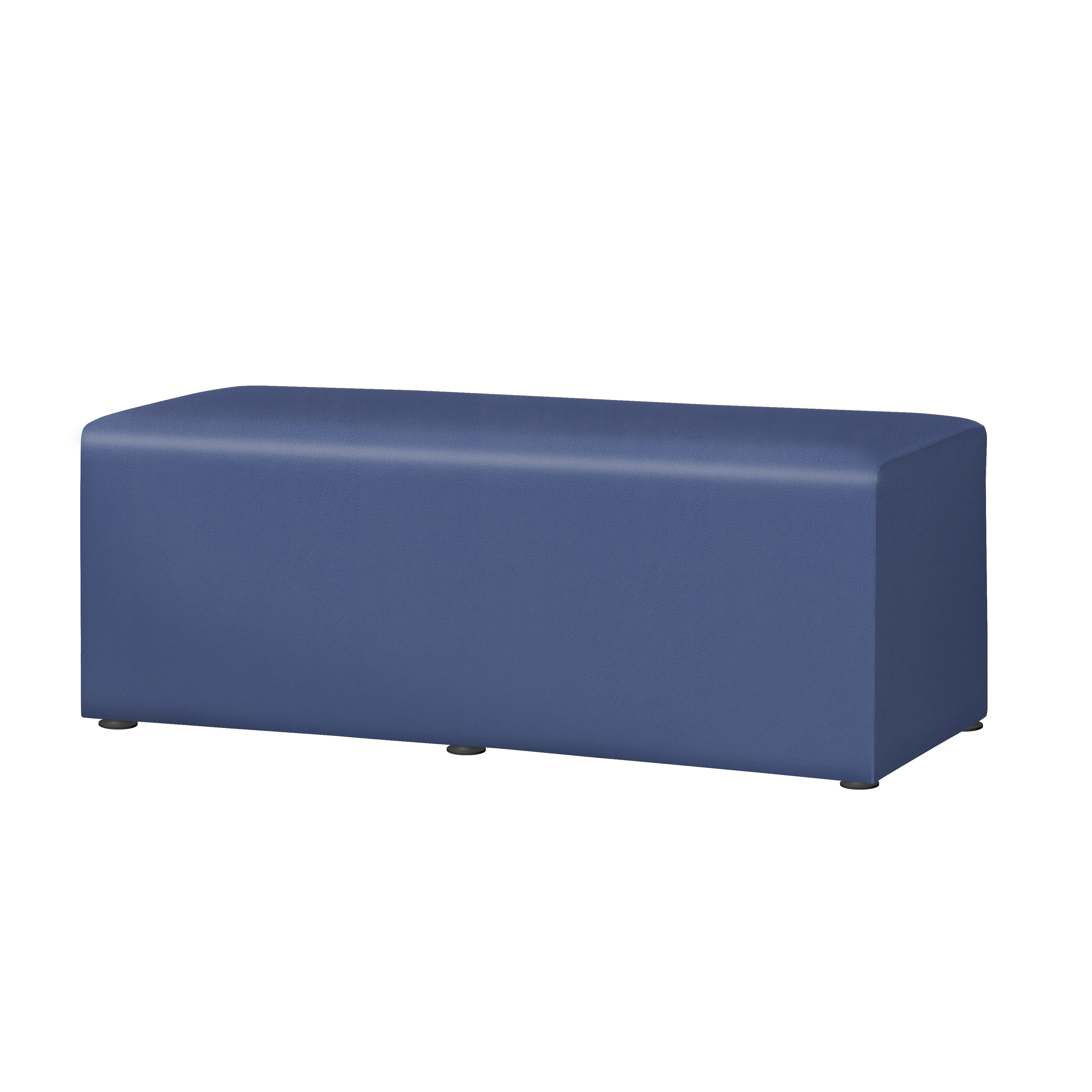 "Marco Rectangle Bench, 16""H, Royal"