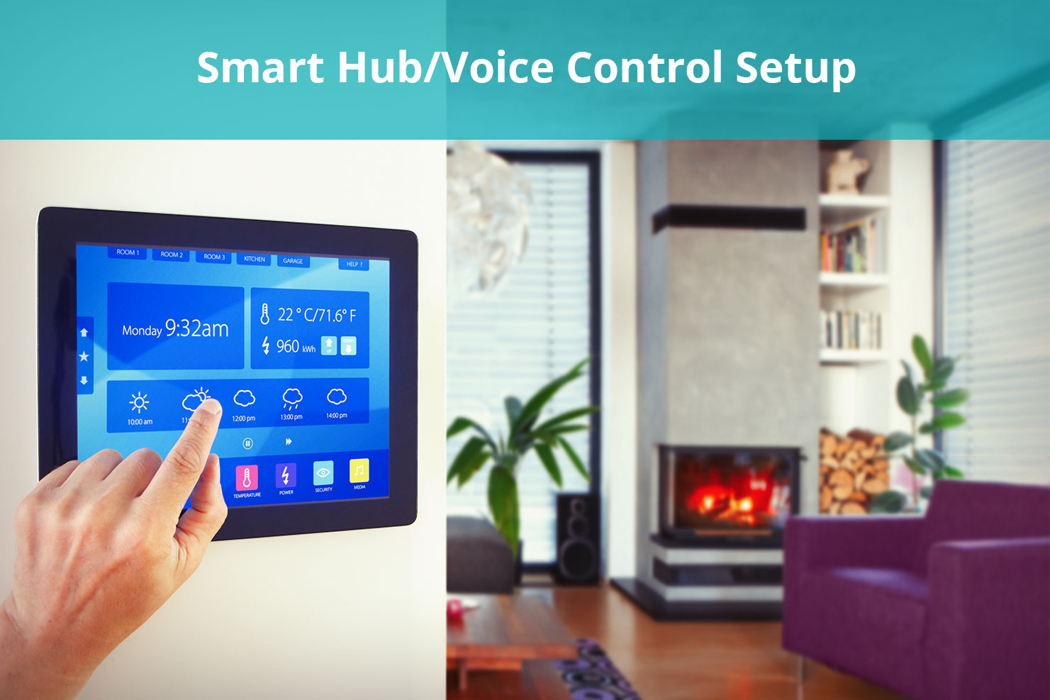 Office Depot Smart Hub/Voice Control Setup