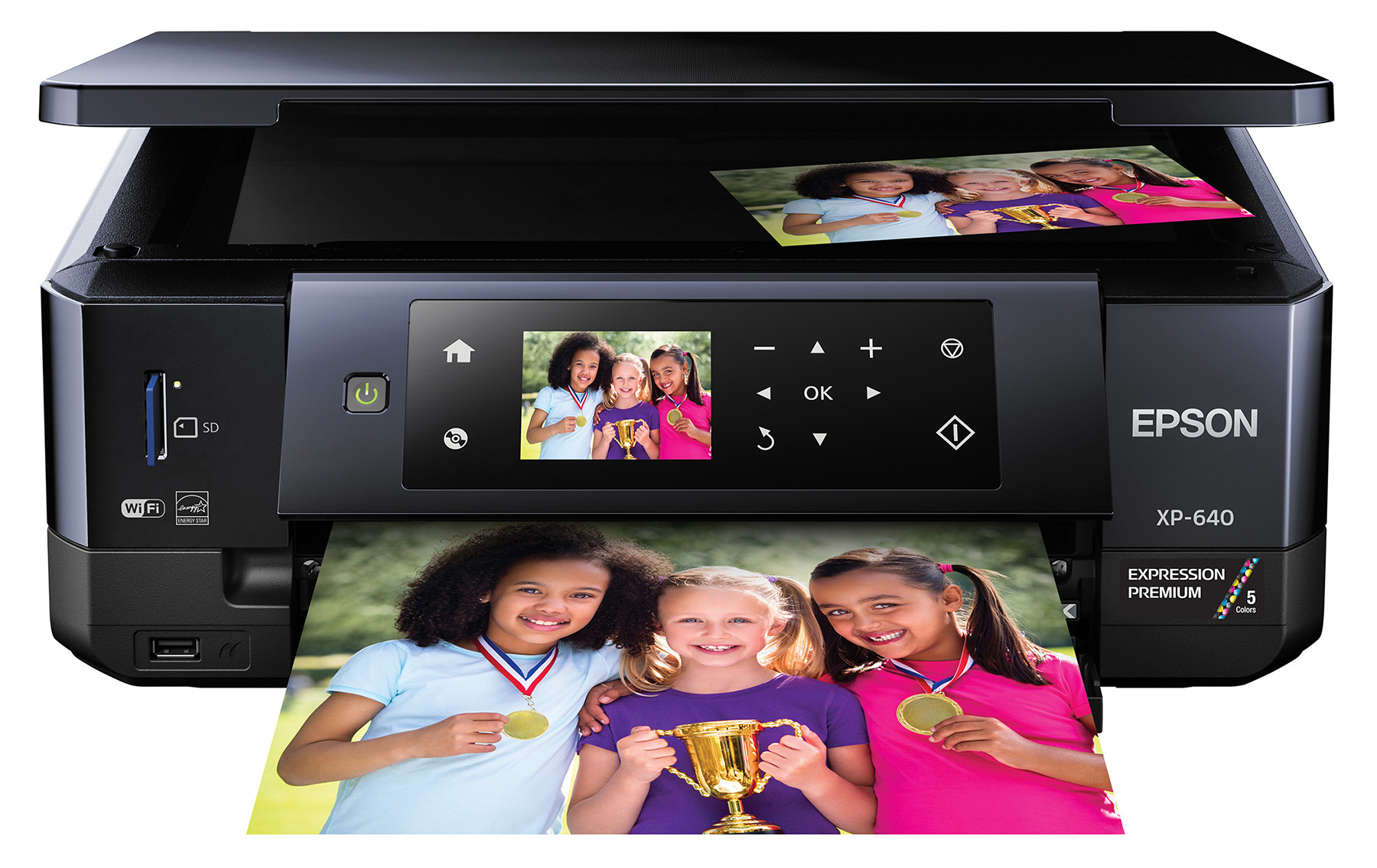 Epson® Expression® Premium XP-640 InkJet All-In-One Color Printer