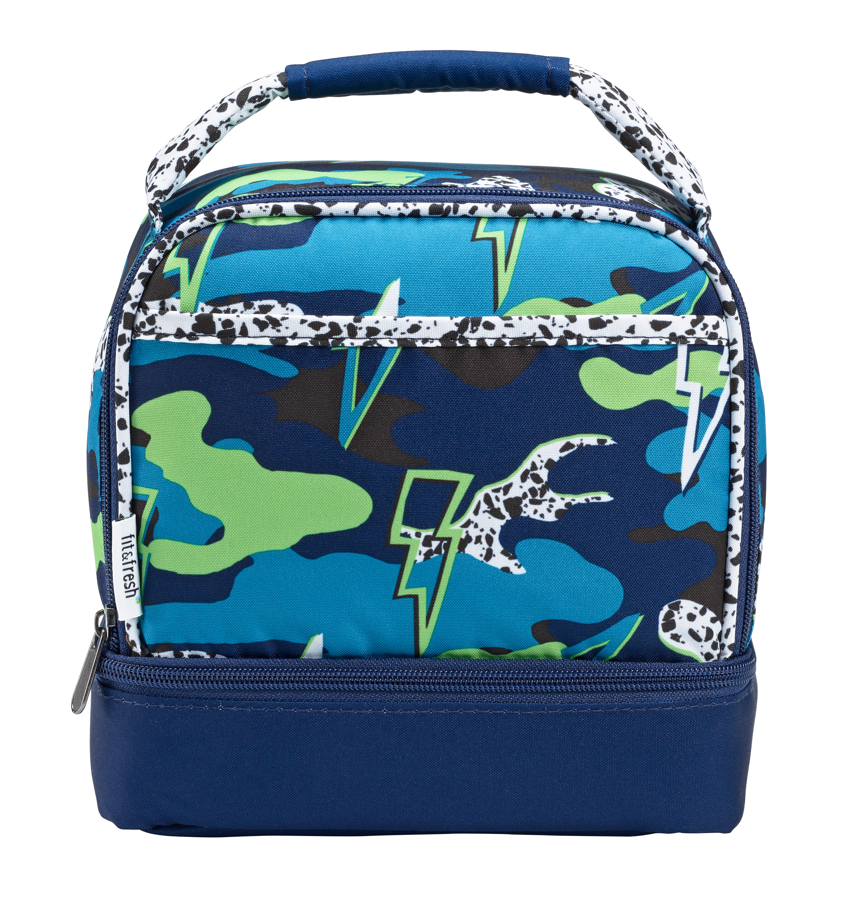 Fit & Fresh Dragonfly Lunch Bag, Multicolor