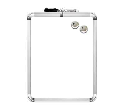 Board Dudes 11 x 14 Metallix Frame Magnetic Dry Erase Board