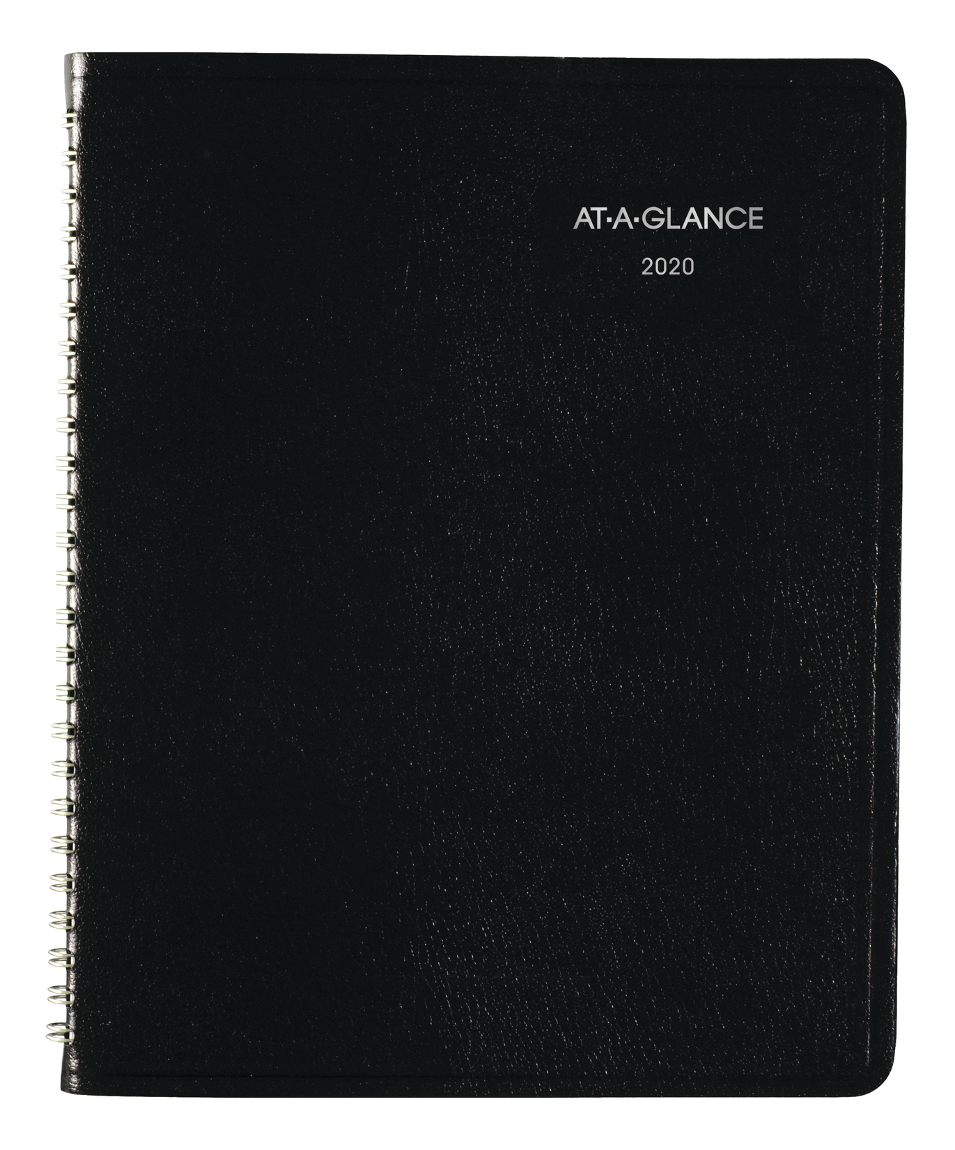 """AT-A-GLANCE® DayMinder® Block-Style Weekly Planner, 7"""" x 8-3/4"""", Black, January To December 2020"""