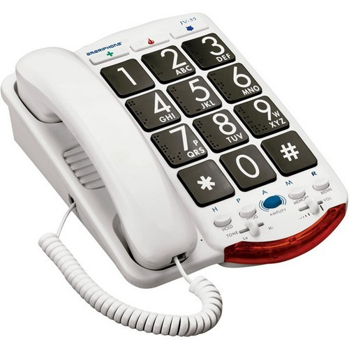 Clarity JV35 Amplified Corded Phone