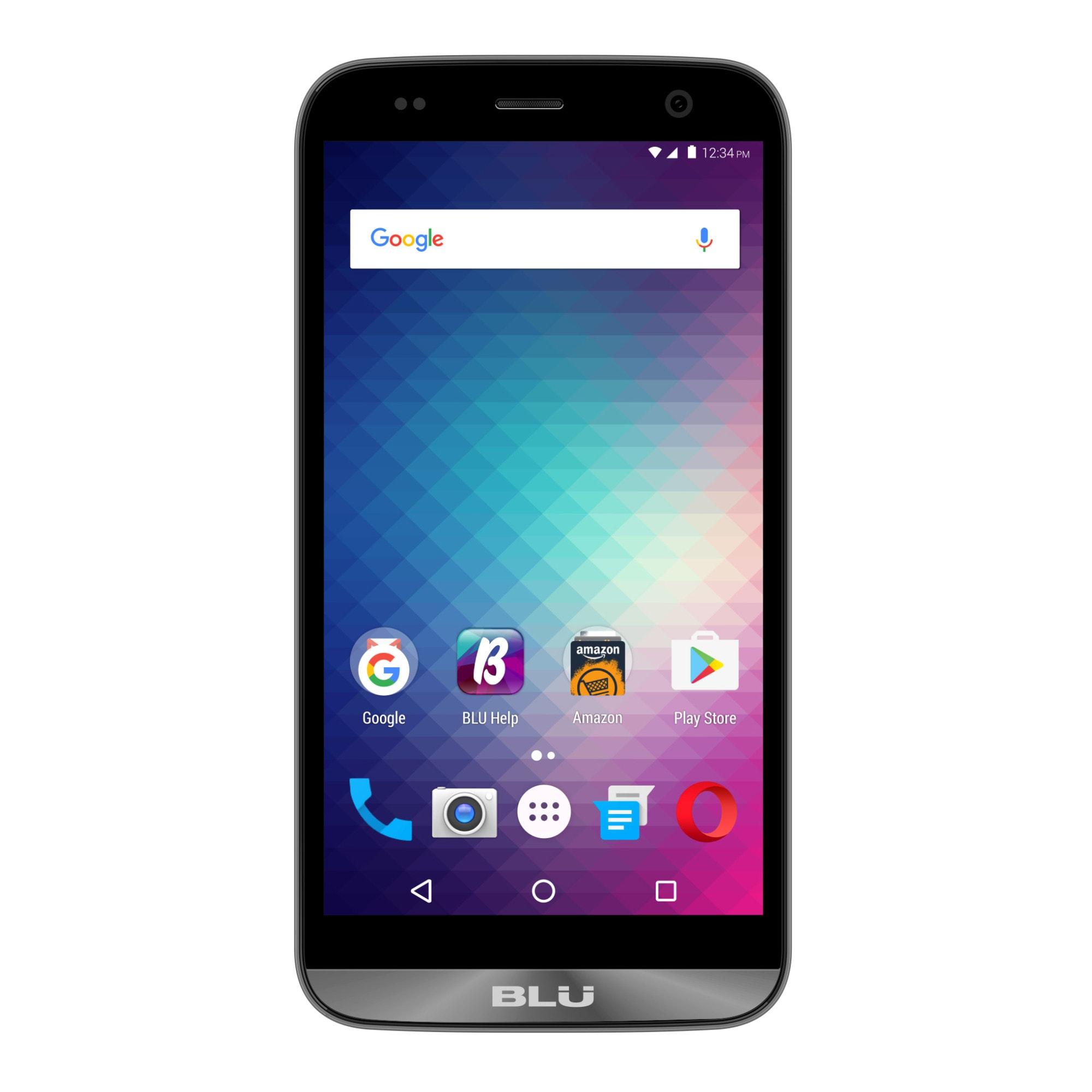 BLU Dash XL D710U Cell Phone, Gray, PBN201147