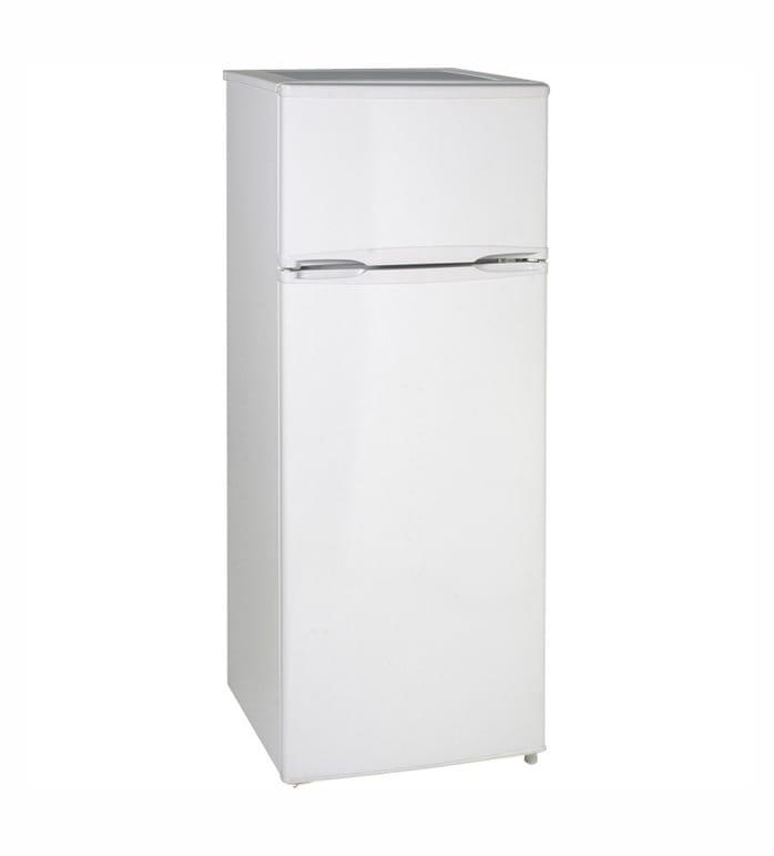 Avanti Model RA7306WT - 7.4 CF Two Door Apartment Size Refrigerator - White - 7.40 ft³ - Reversible - 7 ft³ Net Refrigerator Capacity - 0.40 ft³ Net Freezer Capacity - 251 kWh per Year - White - Smooth