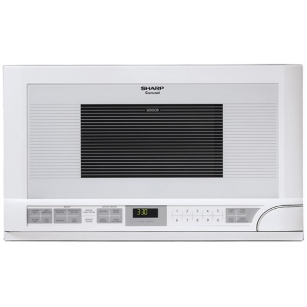 Sharp R1211T Microwave Oven - Single - 11.22 gal Capacity - Microwave - 11 Power Levels - 1100 W Microwave Power - 14.13  Turntable - Over The Range -