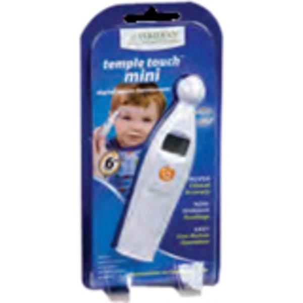 Veridian Healthcare Temple Touch - Mini  Digital Temple Thermometer - Non-invasive, Temperature Tone, Memory Recall, Auto-off, Latex-free, BPA Free