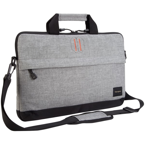 Targus Strata Slip Case Sleeve For 15.6  Laptops, Pewter