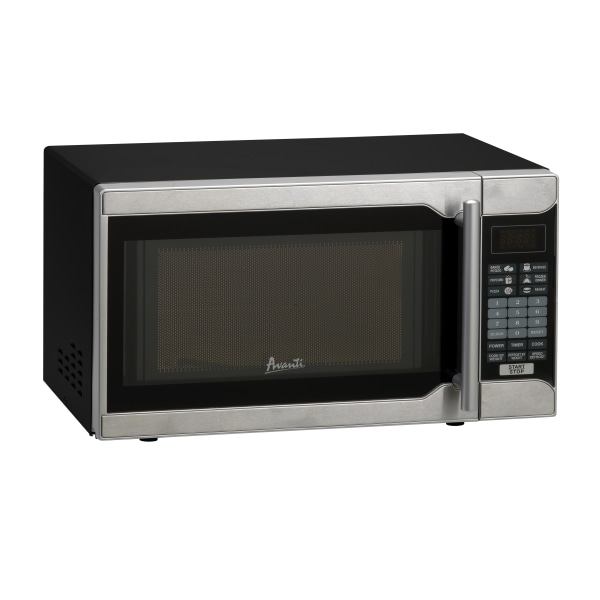 Avanti 0.7 Cu Ft Countertop Microwave, Stainless Steel