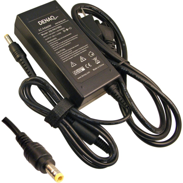 DENAQ 19V 3.42A 5.5mm-2.5mm AC Adapter for TOSHIBA Satellite Series Laptops - 3.42 A Output