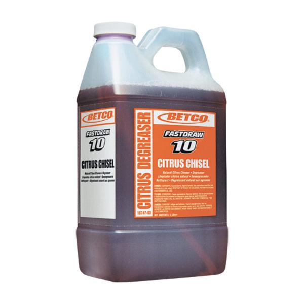 Betco� Chisel Degreaser Concentrate, Citrus Scent, 80 Oz Bottle, Case Of 4 -  1674700