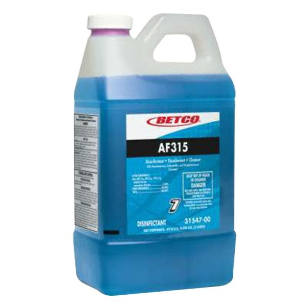 Betco� AF315 Disinfectant Cleaner, Citrus Floral Scent, 67.6 Oz Bottle, Case Of 4 -  3154700