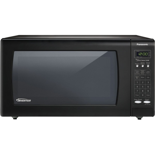 Panasonic NN-SN736B Microwave Oven - Single - 11.97 gal Capacity - Microwave - 10 Power Levels - 1250 W Microwave Power - 15  Turntable - 120 V AC - C