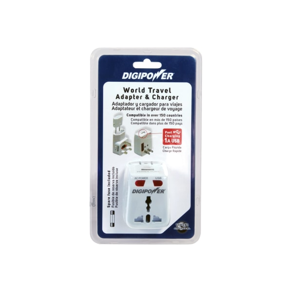 Mizco DigiPower USB Travel AC Power Adapter