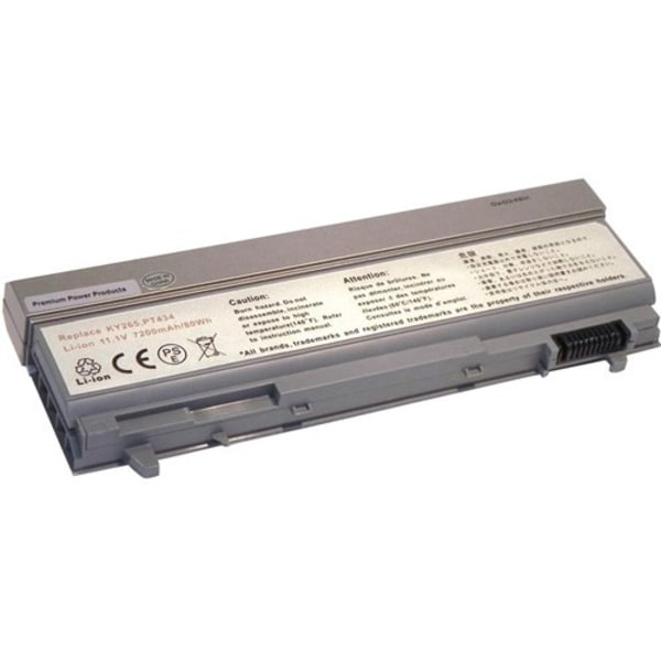 Premium Power Products Replacement Battery For Select Dell Laptop Computers, 7200 mAh Capacity, 312-0749-ER